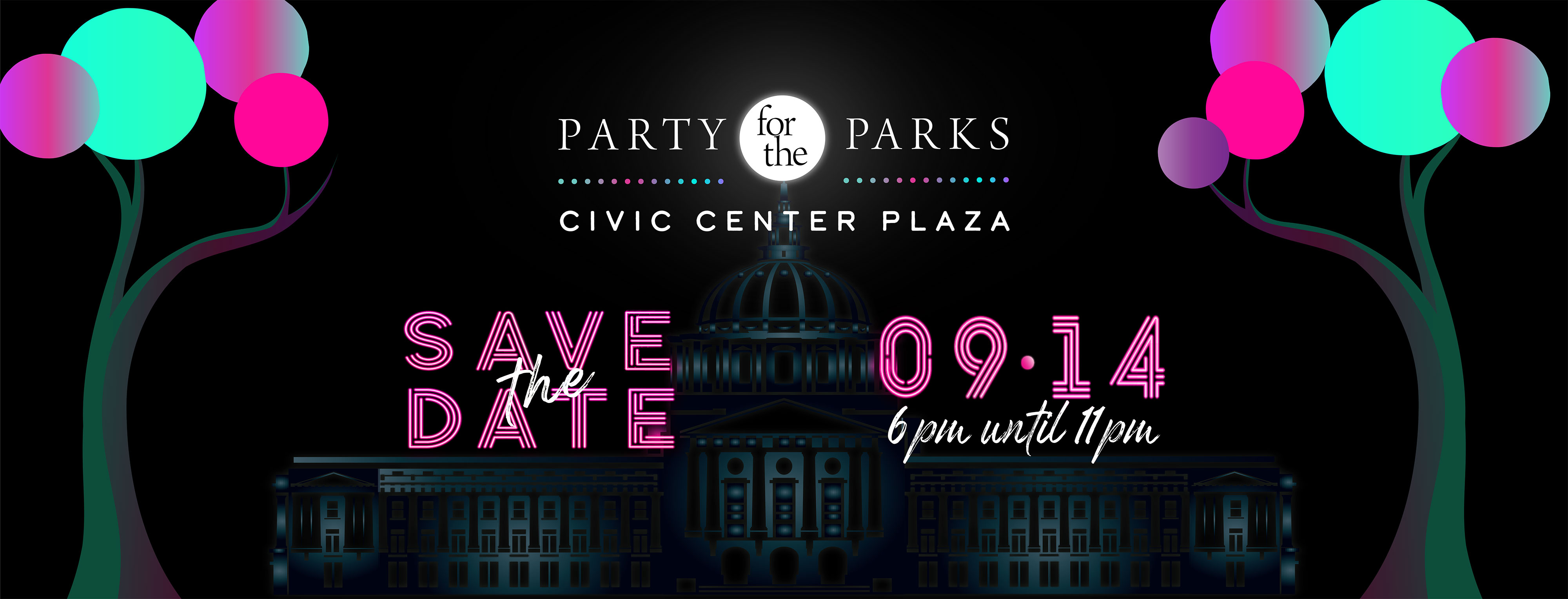 Party for the Parks - Save the Date