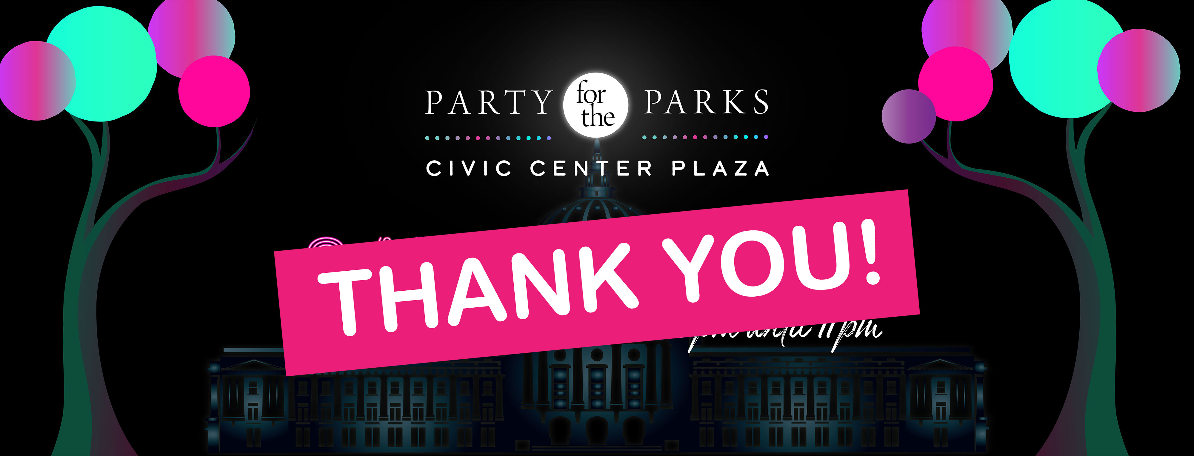 Party for the Parks Thank You
