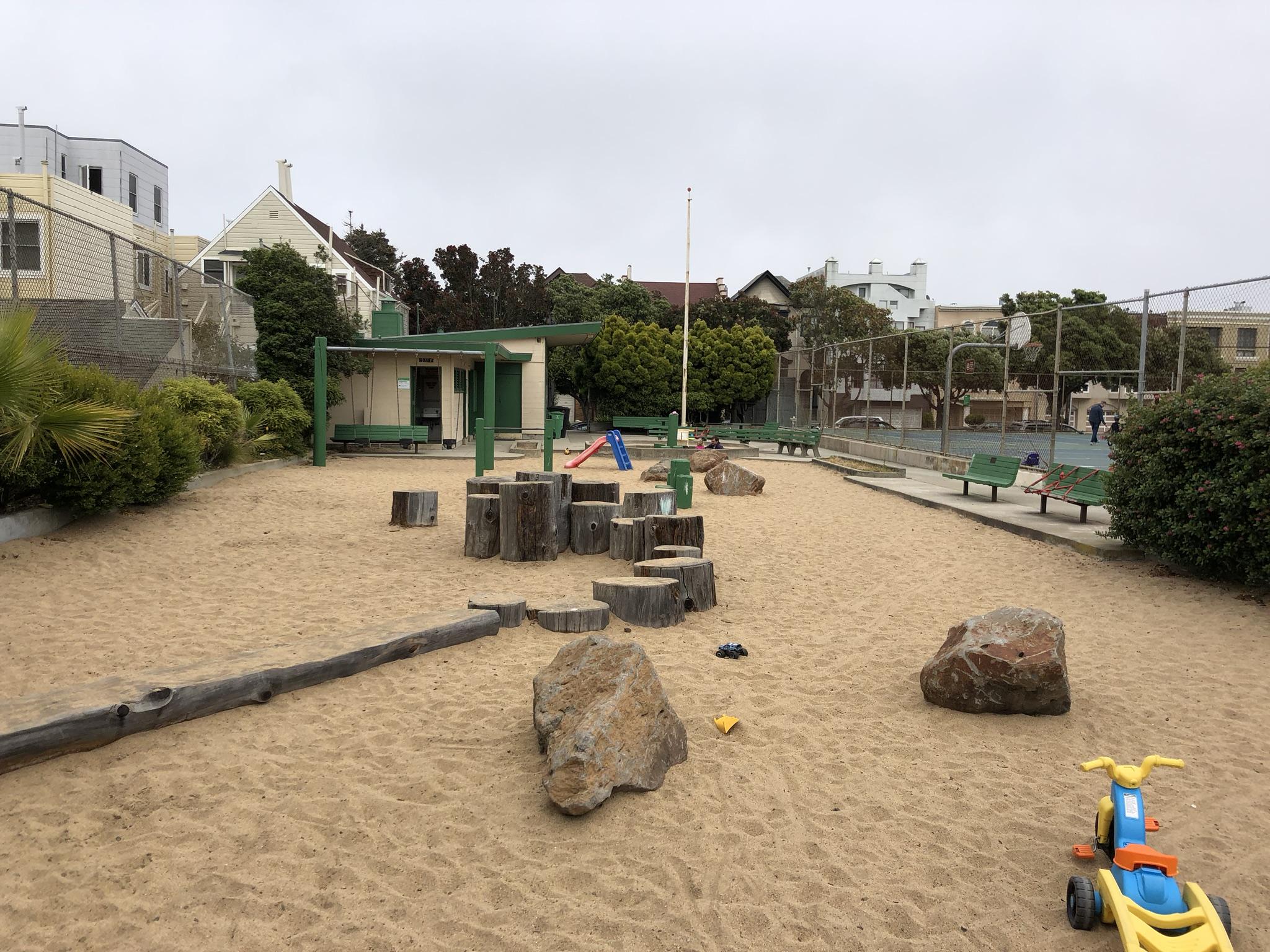 Before Photo of Richmond Playground