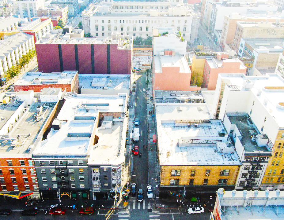 Jessie Street Drone Shot