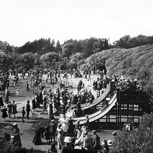 GGP childrens playground historical