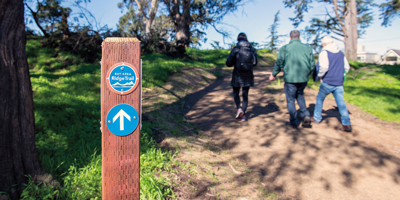 Phil Arnold trail opening 2019